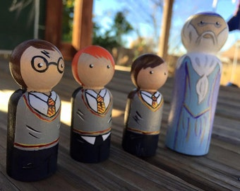 Harry Potter Peg Doll Set