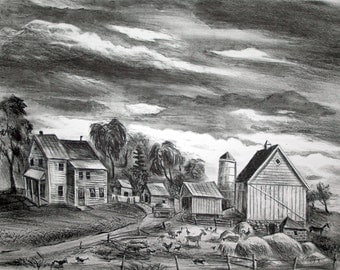Arnold Blanch-Untitled (Farm)