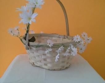 Flowers Girl Basket