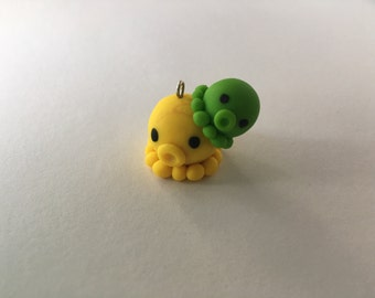 Cute Octopus Clay Charm