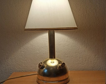 Upcycled vintage Tilley lamp