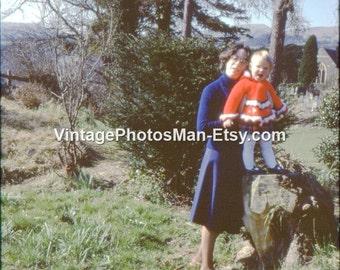 Smiling Girl - April 1979 - 35mm Slide Photograph Digital Download