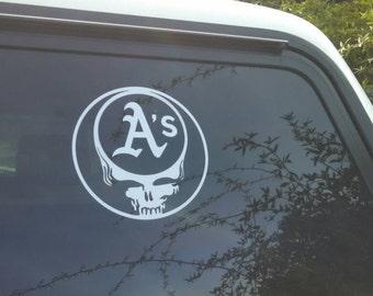 Oakland Skull Etsy