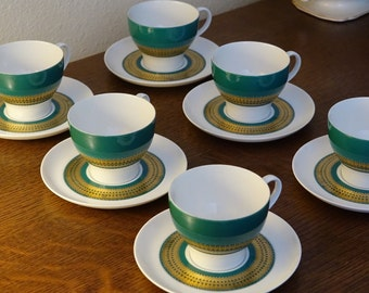 Thomas Germany Demitasse 12 Piece Cup and Saucer Set