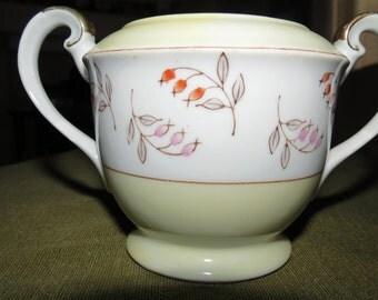Vintage M.K Made in Occupied Japan Sugar Bowl