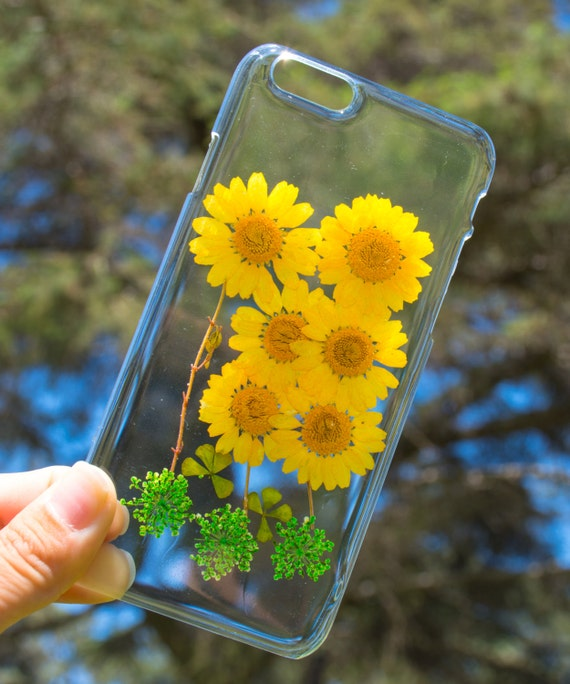 ... , Hand Picked Flowers, Crystal Clear Case Phone Protector: Sun Flower