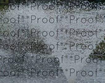 """Fountain Lithograph 24"""" x 30"""""""