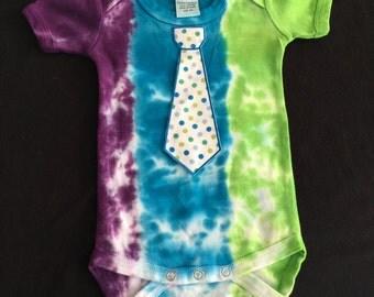 Tie and dye onesie