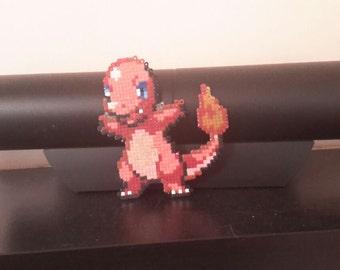 Pokemon Charmander Mini Hama Bead Model