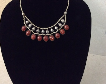 Afghan tribal necklaces