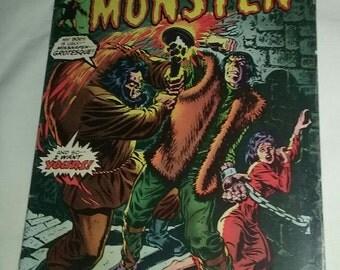 The Frankenstein Monster Marvel comics #11 1974.