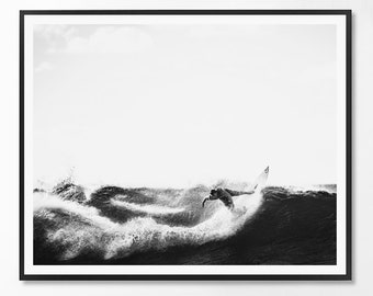 Landcape Print, Black and White Photography, Minimal photo, Minimalist, Sea, Ocean, Landscape Photo, Landcape, Scandinavian Printable Art