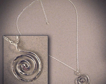 Whirlpool - Sterling Silver necklace