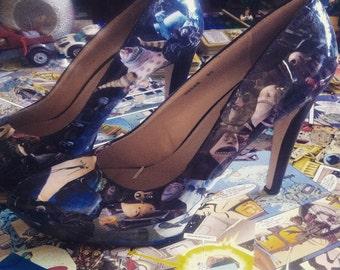 Nightmare Before Christmas custom shoe