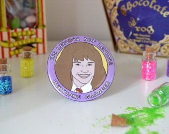 Hermione Granger - 58mm - Badge