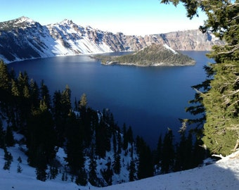 Crater Lake by CambriGrace