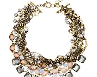 Multi-Strand Signature Torsade Necklace