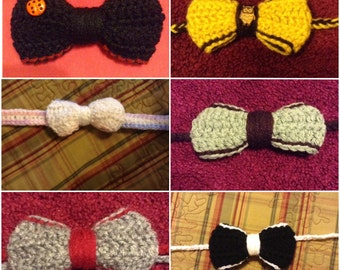 Handmade Crochet Headbands and Bows for Babies, Toddlers and Girls