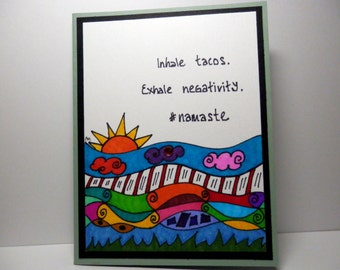 Greeting Card, Funny Card, Handmade Original