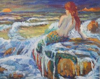 Mermaid at Sunrise
