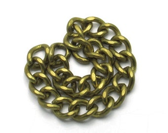 1 m. Brass Chains ( 17.0 mm.)