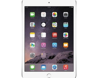 Apple iPad mini 3 Silver Tablet [64 GB/Wi-Fi/Garansi resmi]