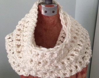 Chunky Cowl-Beige Cowl-Off White Cowl-25% off coupon below