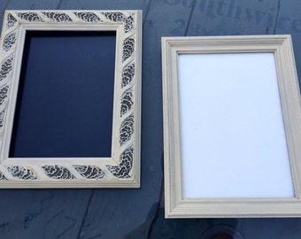 2 5x7 vintage frames