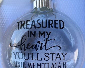 Sympathy Gifts - Condolence Gifts - Bereavement Gift - Christmas Ornament - Christmas Memorial - Memorial Gift - In Memory Of - Rememberance