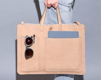 2 pocket flat bag for 15inch laptop