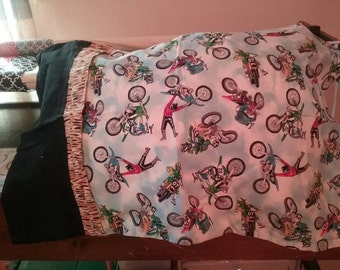 Motocross pillow case