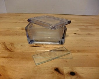 Glass Slide Box