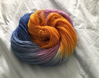 Hand-Dyed Yarn, Sock Yarn