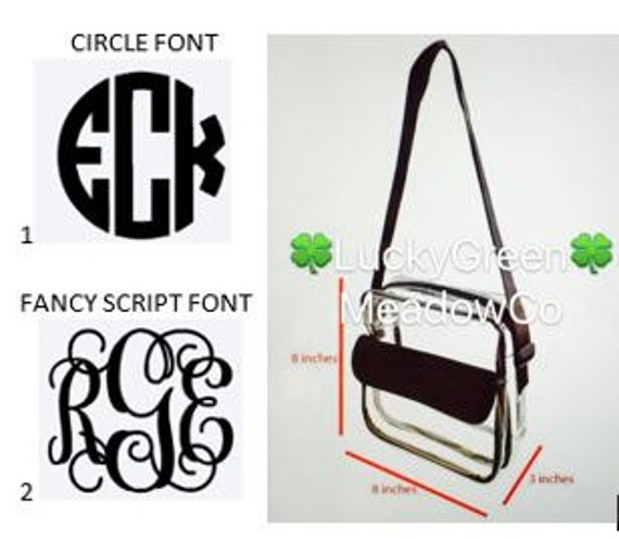 Monogram ADD ON to Crossbody Bag
