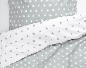 2-sided bed linen BABY Kids bedding STAR