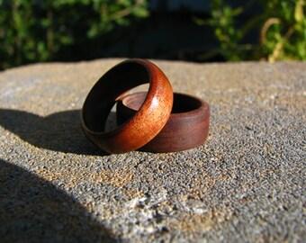 Bolivian Rosewood Ring