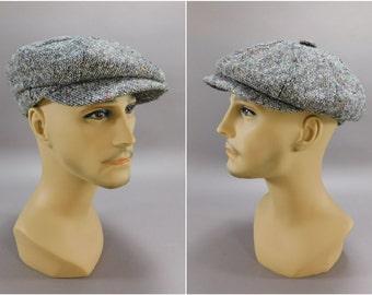 Vintage 1930s Newsboy Cap / 30s Newsboy's Hat / 1940's Jiffy Newsboy / News Boys Hat / 40s Soft Cap / Cabbie Cap / Gatsby Style