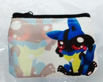 Purse Lucario Baby Cute Kawaii Pokemon sweet monedero