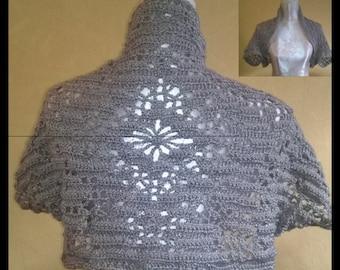 Crochet by Mühlmann One Too - Bridal Shrug Bolero