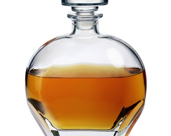 "Whisky Decanter ""Boccacio"" – Elegant Whisky Carafe - Christmas Gift"