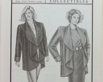 Ann Person Collectibles Stretch and Sew Pattern - Cuddle Coat # 1028 - Sewing Pattern