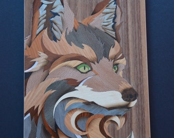 marquetry Fox 2