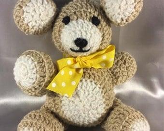 Handmade Crochet Teddy Bears