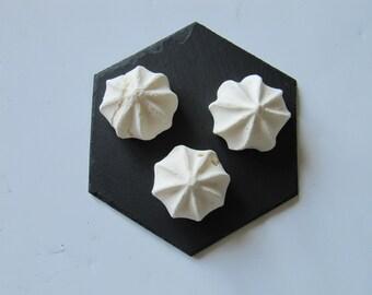 Natural slate MM hexagonal plate