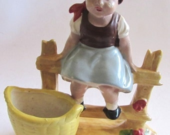 Rare Vintage Germany Figure - GIRL