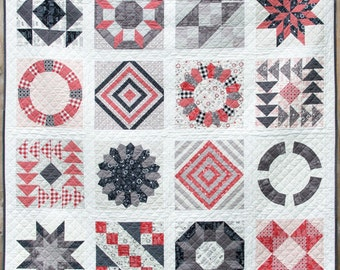 The Pic N Mix Sampler Quilt Pattern