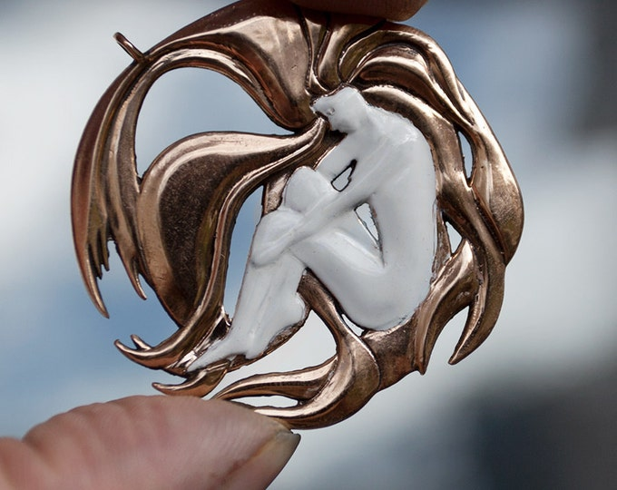 "Pendant Bronze ""Redhead"""