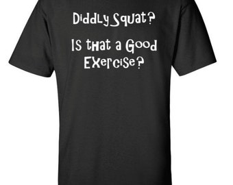 Diddly Squat Exercise Short Sleeve T-Shirt