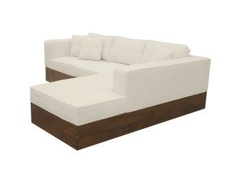 South Cone Home Pacifica Sectional Sofa
