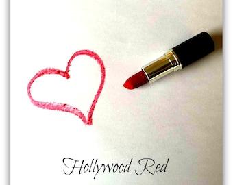 Organic Lip Stick - Hollywood Red